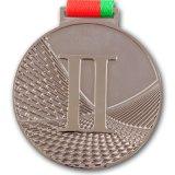 Sport-Medaillen/Kupfer überzogene Medaillen 3D mit Farbband