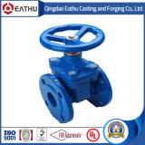 Запорная заслонка стержня литой стали DIN3352 Non-Поднимая