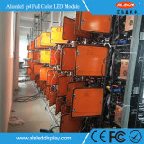 Im Freien farbenreiche P4 SMD2525 256*128mm LED-Bildschirmanzeige-Anschlagtafel