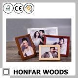 Высокосортная естественная картинная рамка фотоего твердой древесины