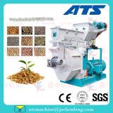 Animazione del laminatoio della pallina del truciolo della segatura del cereale dell'avena del grano da polvere