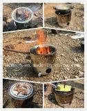 Ad alimentazione mista indipendente con la stufa poco costosa dell'alcool di legno
