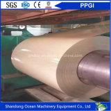 L'acciaio galvanizzato PPGI ha preverniciato la bobina preverniciata PPGI/PPGI della bobina