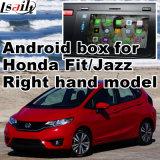 A relação video Android do sistema de navegação do GPS para a cidade de Honda da condução à direita, toca na ligação Android do espelho de opinião traseira da navegação do sistema