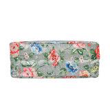 レトロの花のPinting防水PVCキャンバス日袋(99145)