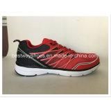 La manera del color rojo se divierte la zapatilla de deporte del zapato corriente de los zapatos
