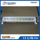 120W 차 트럭 IP68를 위해 Offroad 자동 LED 모는 빛 일