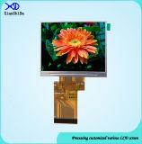 LCD 디스플레이 700CD/M2 높은 광도 3.5 인치 TFT 모듈