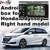 A relação video Android do sistema de navegação do GPS para a condução à direita Honda Hora-v Vezel, toca na ligação Android do espelho de opinião traseira da navegação do sistema