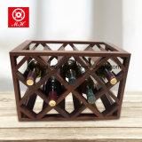 11 de flessen Wijn rekken Plank van de Fles van de Wijn van de Manier van de Rode Wijn de Houten Europese