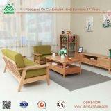 家具の居間のソファーセット、カスタマイズされた木の標準的なソファー、木のソファーの一定の家具