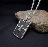 Joyería pendiente de la manera del acero inoxidable del collar retro de los hombres