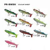 PR-Bwsh04 Kunstmatig Plastic Aas met Lokmiddel van de Visserij van de Haak het Zachte Levende