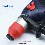 Máquina del taladro de martillo eléctrico de la herramienta de la construcción de Makute