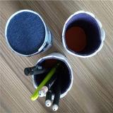 Trousse d'écolier pour le sac fabriqué à la main coloré de crayon lecteur de sac de laines du Népal d'élèves