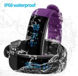 IP68 imprägniern Sport-Puls-intelligentes Uhrenarmband