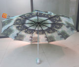 3熱伝達の印刷(YS - T 001)を用いる折るマニュアルの開いた傘