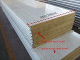 """Panneau """"sandwich"""" de laines de roche d'isolation thermique pour la construction en acier"""