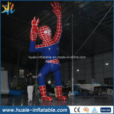 Шарж человек-паука PVC раздувной, раздувная модель для рекламировать