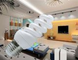 lampadine piene di risparmio di energia di spirale 3000h/6000h/8000h 2700k-7500k E27/B22 220-240V di 15W 18W 23W