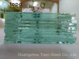 Vidro liso flutuante de 1,9 mm a 25 mm para decoração para casa (C-TP)