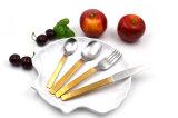 Dinnerware золота высокого качества Tableware нержавеющей стали серебряного установленный навальный