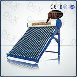 Sistema solar del calentador de agua caliente de la bobina del cobre del precalientamiento