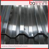 Hoja del material para techos/azulejo de azotea de aluminio acanalados