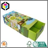 Коробка твердого подарка типа ящика картона бумажная для Jewellery