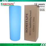 Plantilla del chorro de arena del PVC del pegamento del nivel del imperio de la cinta Sh9035 de Somi para la protección de piedra