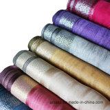 Echarpe teintée au polyester et imprimé en polyester avec Tassel