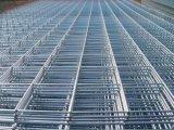 Panneau soudé galvanisé galvanisé par armure carrée de treillis métallique des prix/exportation de treillis métallique de frontière de sécurité de fil