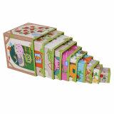 Rectángulo de regalo rígido modificado para requisitos particulares de la jerarquización para el empaquetado de los juguetes de los niños