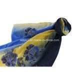 Polyester gefärbter Stickerei-Spitze-Schal (AJC10021335)