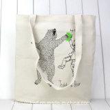 最も熱い販売の低価格のハンドル様式の綿袋の/Shoppingのキャンバス袋