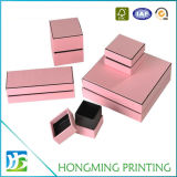 Caixa de cartão rígida de 2 partes para o anel