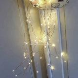240 LED Blanc Chaud multi Direction cordes Fée Starry Éclairage flexible fil de cuivre pour le mariage