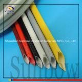 Втулка стеклоткани силиконовой резины (волокно внутренности и резина снаружи)
