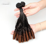 Clip brasileño de Remy en la extensión del pelo humano