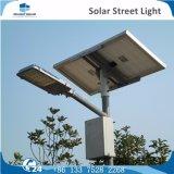 Lâmpada de rua solar do diodo emissor de luz do sistema ao ar livre do sensor de Mension da paisagem