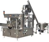 Machine de remplissage liquide linéaire et machine à étiquettes recouvrante de machine à emballer de machine
