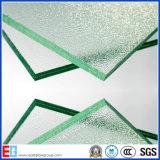 녹색 Tempered 박판으로 만들어진 건축 유리를 주문을 받아서 만드십시오