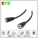 Подгонянный магнитный кабельный соединитель USB 2plug для перчаток лыжи