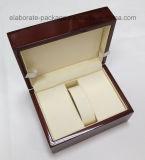 Caixa de madeira independente real de baixo preço da venda por atacado da caixa de relógio
