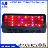 Les approvisionnements croissants hydroponiques bonne DEL élèvent des lumières que l'usine de 100W 200W 300W élèvent la lampe