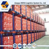 Armazém de armazenamento industrial através do rack para armazenamento de armazém