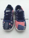 Ботинки обуви детей ботинок холстины впрыски малышей (FFHH-092609)