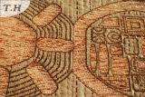 多彩なシュニールのジャカード様式のソファーの布