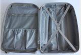 ABS + PC Hard Zebra Impreso Rolling Spinner Hardshell equipaje maleta