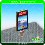 De ZonneRol Lightbox van de Structuur van het Staal van het Aluminium van China Yeroo